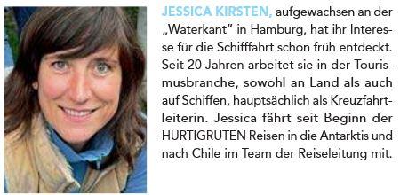 Jessica Kirsten - Hurtigruten Antarktis