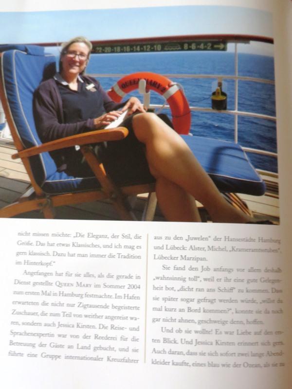 Jessica Kirsten - Leben an Bord einer Königin - Buchtipp