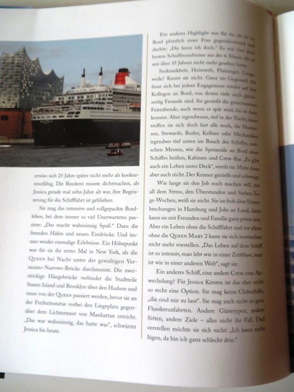 Jessica Kirsten - Buchtipp Queen Mary 2 Buch Manfred Ertel Koehler Verlag