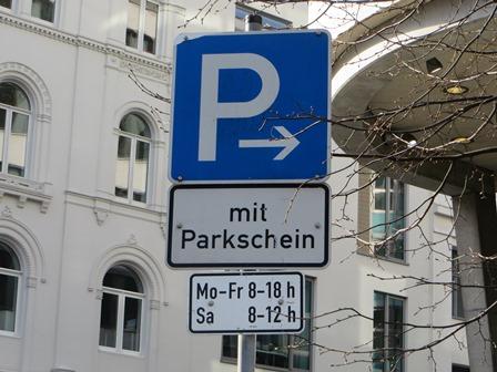 Innenstadt Hamburg Parken