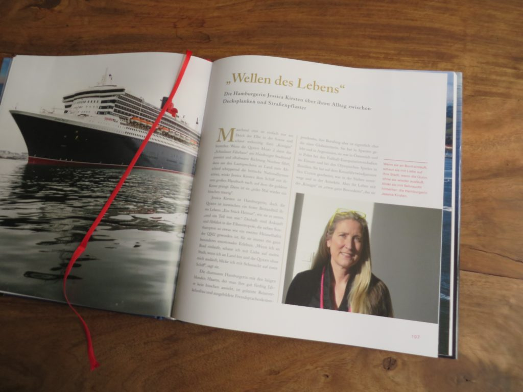 Empfehlung Buch Queen Mary 2, Alltag an Bord