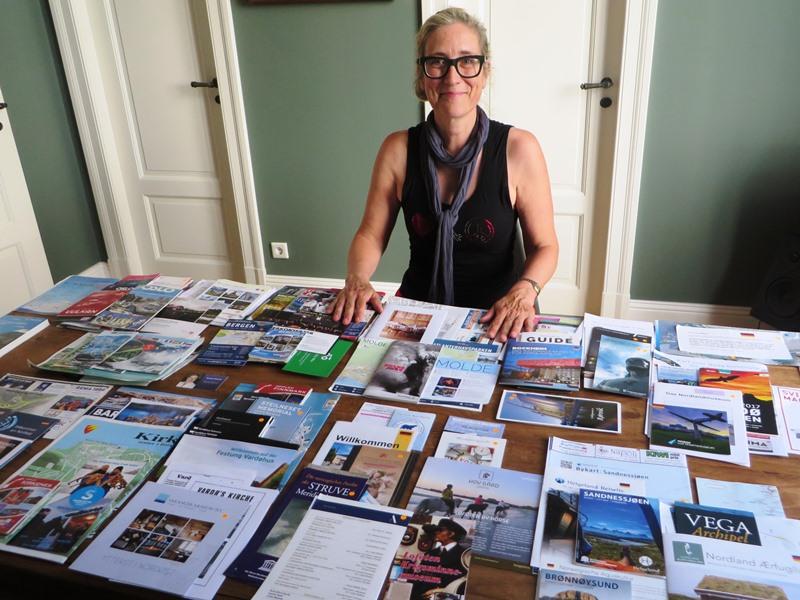 Jessica Kirsten Reiseleiterin Hurtigruten