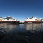MS Trollfjord Midnatsol Hurtigruten Kalender 2020 Postschiffe