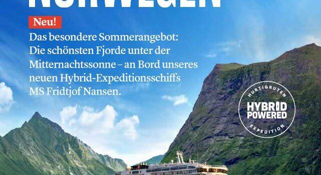 Hurtigrute ab Hamburg 2020 Fridtjof Nansen
