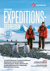 Expeditionsseereisen Hurtigruten 2021-2022 Katalog