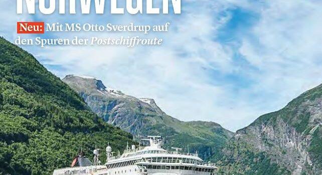 Katalog MS Otto Sverdrup Hamburg Norwegen