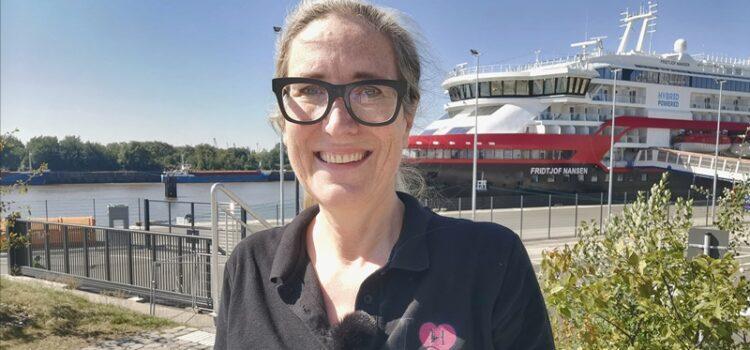Hurtiguten Reiseleiterin Jessica Kirsten Fridtjof Nansen